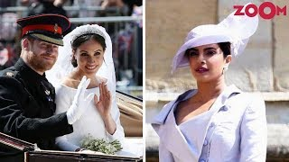 Priyanka Chopra Dazzles As She Attends Prince Harry And Meghan Markle's Royal Wedding - ZOOMDEKHO