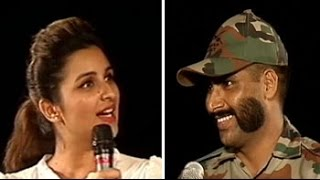 Parineeti meets the winner of annual moustache competition in the army - NDTV