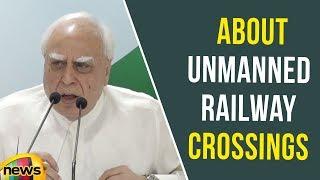 Kapil Sibal Speaks About Unmanned Railway Crossings | Kushinagar Incident | Mango News - MANGONEWS