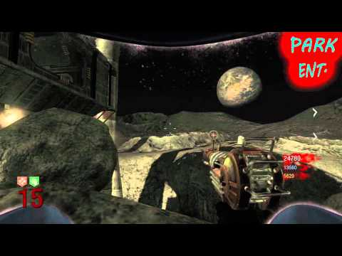 "Black Ops Zombies ""Moon"" Easter Egg *VOICE* Tutorial - Big Bang Theory Achievement"