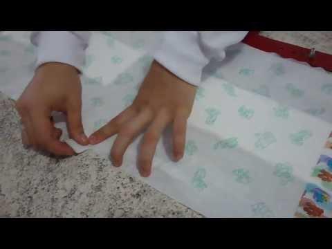 Acabamento manual - Fraldas infantis | Fenix do Brasil