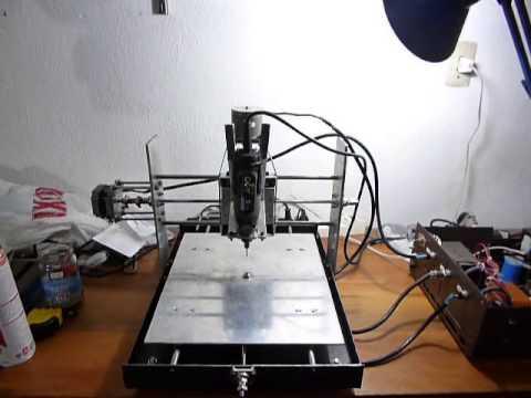 Mi Fresadora CNC Casera