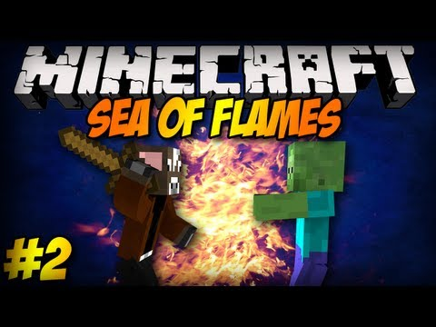 Minecraft Survival: YouTube będzie płatny? - Sea of Flames #2
