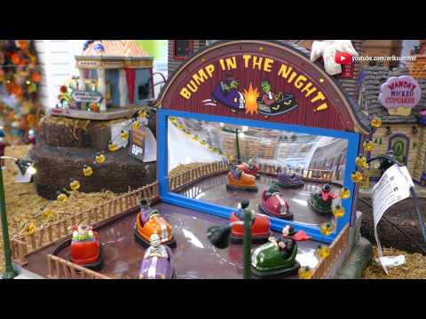Spooky Town Bumper Cars 2015 Edition! Halloween Village