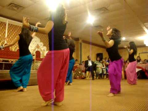 Shaadi Dance For Rahil and Munira Bhangra Sisters