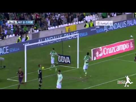Real Betis 0:3 FC Barcelona All Goals