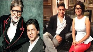 Amitabh Bachchan and Shahrukh Khan to work together, Aamir Khan to support Kalki Koechlin's film