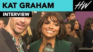 Kat Graham Drops Hints At New Music & Tells A Hilarious Fan Story | Hollywire - HOLLYWIRETV