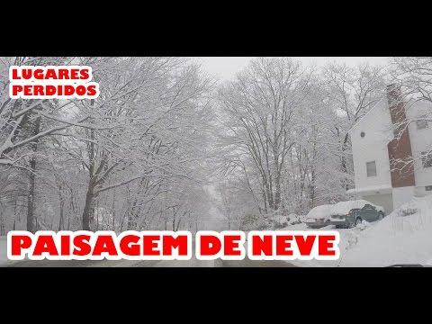 Perdidos mostra cidade coberta de neve e acidente na rodovia...