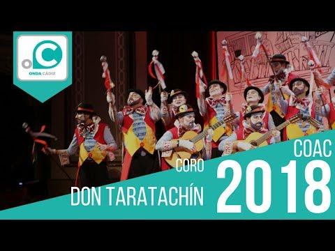 Sesión de Preliminares, la agrupación Don Taratachín actúa hoy en la modalidad de Coros.