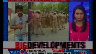 Home Ministry in touch with TN government; MHA seeks report on sequence of events - NEWSXLIVE
