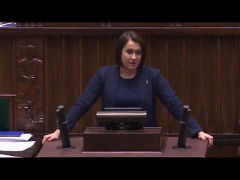 Zaledwie jednozdaniowe wystąpienie posłanki PiS Anny Siarkowskiej wywołało burzliwą dyskusję.