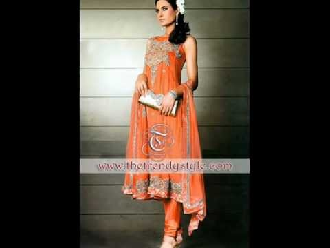 Pakistani & Indian Trendy Dresses fashion show by The Trendy Style.wmv