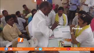 MLA Balakrishna Serious On Chilamakuru TDP Leaders In Hindupur | iNews - INEWS