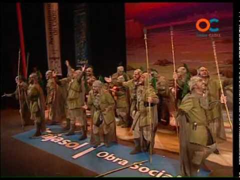 Sesión de Cuartos de final, la agrupación Los Caballeros de la Piera Reonda actúa hoy en la modalidad de Comparsas.