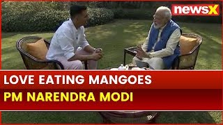 PM Narendra Modi Interview with Akshay Kumar, reveals his love for Mangoes - NEWSXLIVE