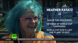 World Cup veteran: Aussie has spent decades traveling to root for her country - RUSSIATODAY
