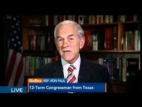 Ron Paul VS Paul Krugman 4 30 12 FULL Bloomberg