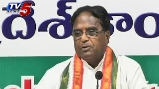 KCR Scared Of Congress - Ponnala - TV5NEWSCHANNEL