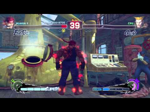 Super Street Fighter IV AE - Evil Ryu Arcade