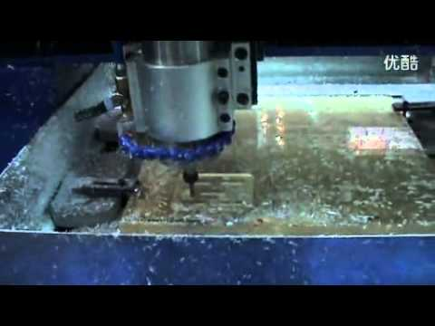 Movable Working Table Mini CNC Router engraving acrylic
