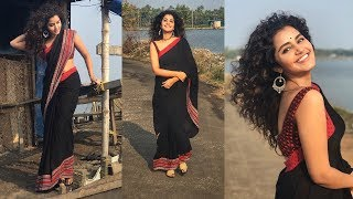 Anupama Parameswaran Beach Dance video | Anupama Parameswaran Enjoyed in Beach - RAJSHRITELUGU