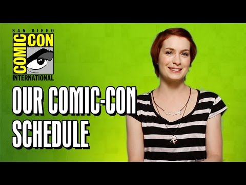 Felicia Day & Amy Dallen Reveal Our Comic-Con 2014 Schedule!
