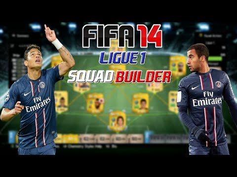 NEXT GEN FIFA 14 Ultimate Team- Amazing 40k Ligue 1 Squad Builder Feat Thiago Silva, Lucas & More!