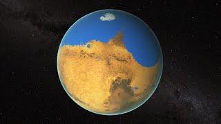 محيط على سطح المريخ أكبر مساحة من المحيط المتجمد الشمالي للأرض (فيديو)
