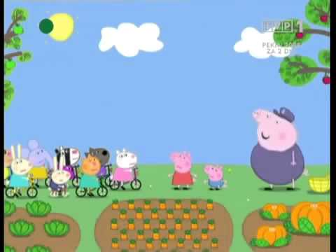 Świnka Peppa Kto mieszka w ogrodzie odc 20