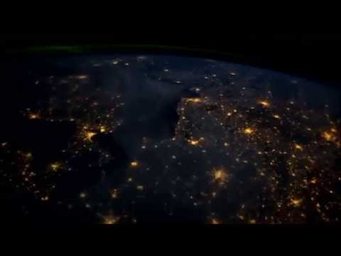 Ziemia Polska widok z kosmosu film Nasa Walking On Air