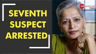 Seventh Suspect Arrested In Gauri Lankesh Killing - ZEENEWS