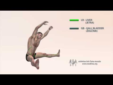 Exercise for meridians of LIVER and GALL BLADDER - Vaja za odpiranje meridijana LR in GB