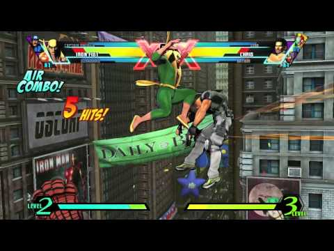 Iron Fist Character Vignette - Ultimate Marvel vs. Capcom 3