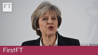 May speech, Chinese statistics | FirstFT - FINANCIALTIMESVIDEOS
