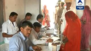 Poling begins to decide the critical contest in Barmer, Rajasthan - ABPNEWSTV