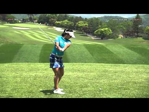 [Slow HD] HEO Yoon-Kyung 2012 Driver Golf Swing_KLPGA Tour
