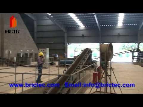 funcionamiento de complete ladrillera con automatica maquina de hacer ladrillo