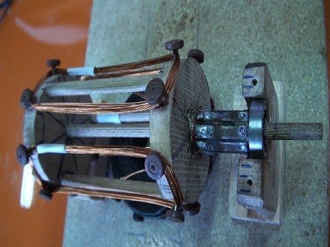 Cómo hacer un Motor eléctrico casero