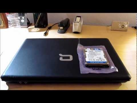 Compaq Presario C700: Hard Drive Replacement & Windows Reinstall