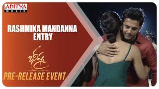 Rashmika Mandanna Entry @ Bheeshma Pre Release Event | Venky Kudumula | Mahati Swara Sagar - ADITYAMUSIC