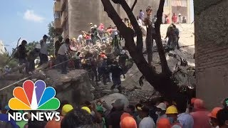 Rescuers Search For Survivors After Mexico Earthquake | NBC News - NBCNEWS