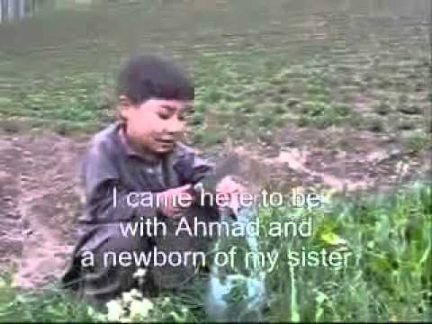 Afghan Hazara boy in Bamyan funny interview flv