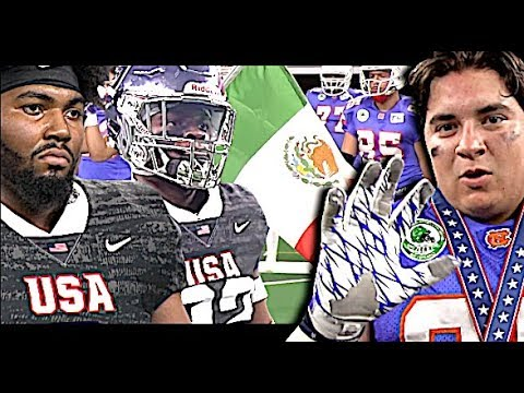 19U USA v MEXICO | International Bowl X | Team USA vs Team Tamaulipas (MEXICO) AT&T Stadium