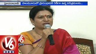 T Congress leader D K Aruna criticize CM KCR governance - Hyderabad - V6NEWSTELUGU