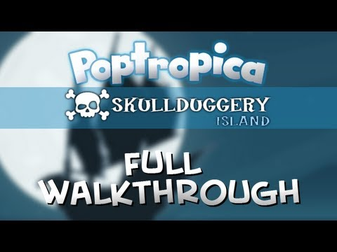 Poptropica Skullduggery Island Full Walkthrough