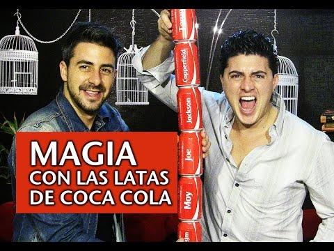 Magia con las latas de Coca Cola | Joe & Moy