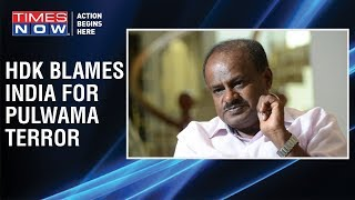 SHOCKING! H.D.Kumaraswamy blames India for 'Terrorism crisis' - TIMESNOWONLINE