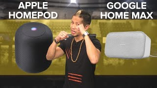 Apple HomePod vs. Google Home Max - CNETTV