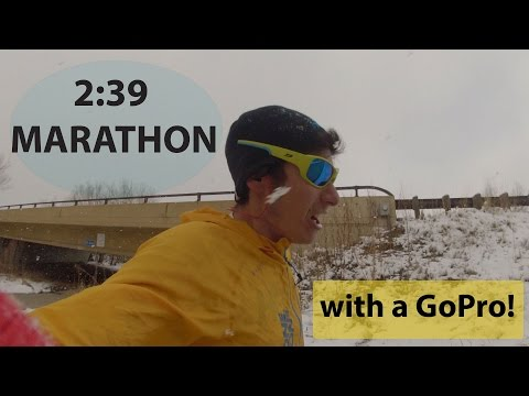 2:39 MARATHON WITH A GoPro! Training for UTMB Episode 3 : Sage Canaday Running Long